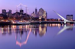 Welcome to Buenos Aires City Tours  Puertos Maderos Port by night City tours Buenos Aires